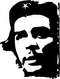"Image derived from the photograph of Ernesto ""Che"" Guevara ""Guerillero Heroico"" originally taken by Alberto Korda in 1960"